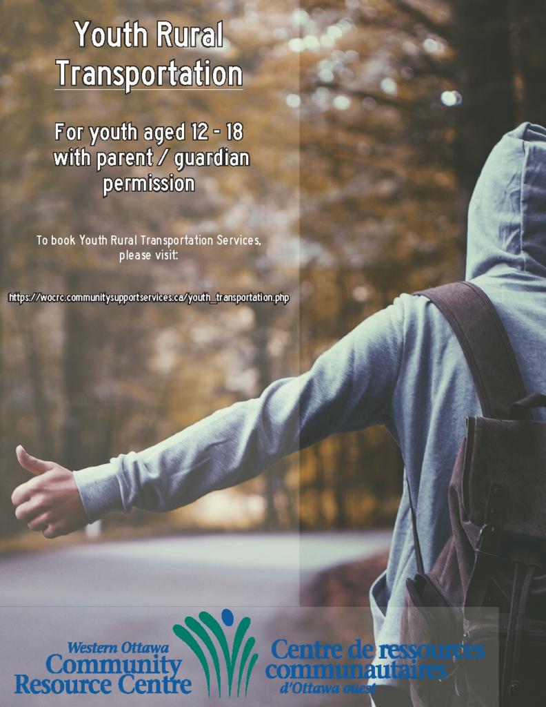 Youth Rural Transporation flyer