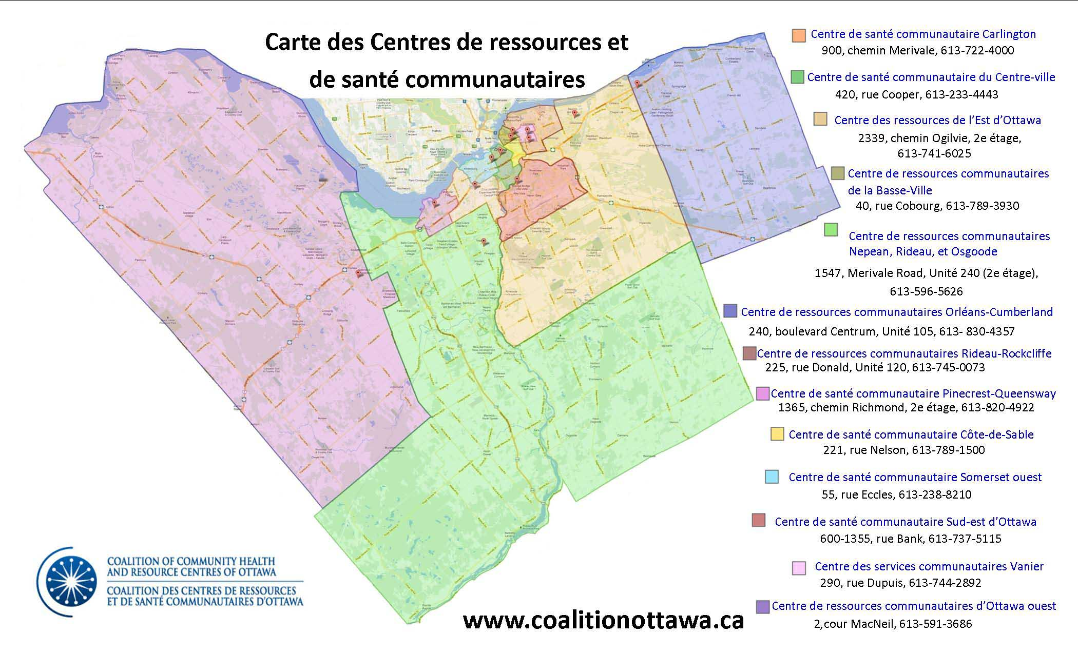 Coalition Map - Entire Catchments with Grid including Address and Phone Number_2016_FR