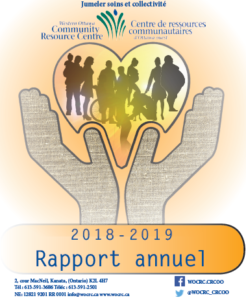 2018-2019 Rapport annuel