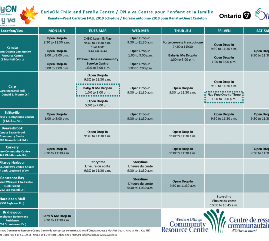 Fall Calendar Workshops November 7