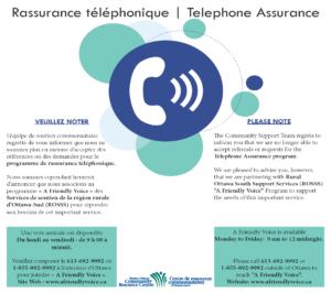 Telephone Assurance Update Poster 2020