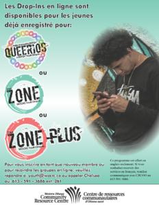 Les Drop-Ins en ligne sont disponibles pour les jeunes