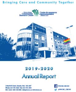 Annual Report Cover 2019-2020