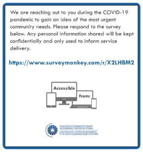 COVID-19 Community Needs Assessment