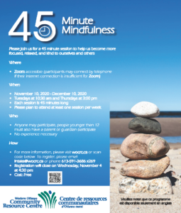 45 Minute Mindfulness November