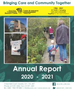 2020/2021 Annual Report Cover