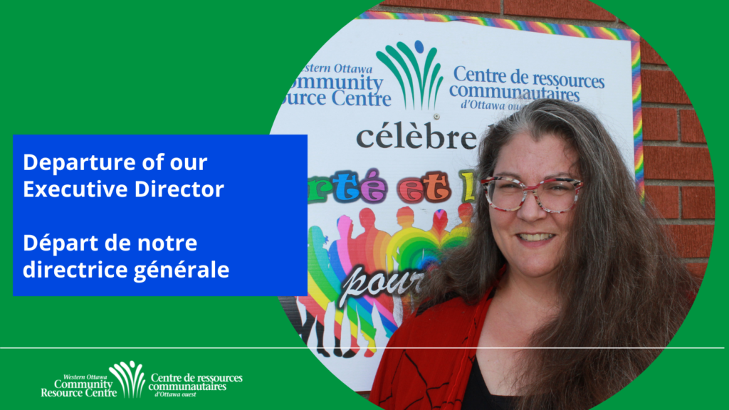 Departure of our Executive Director /